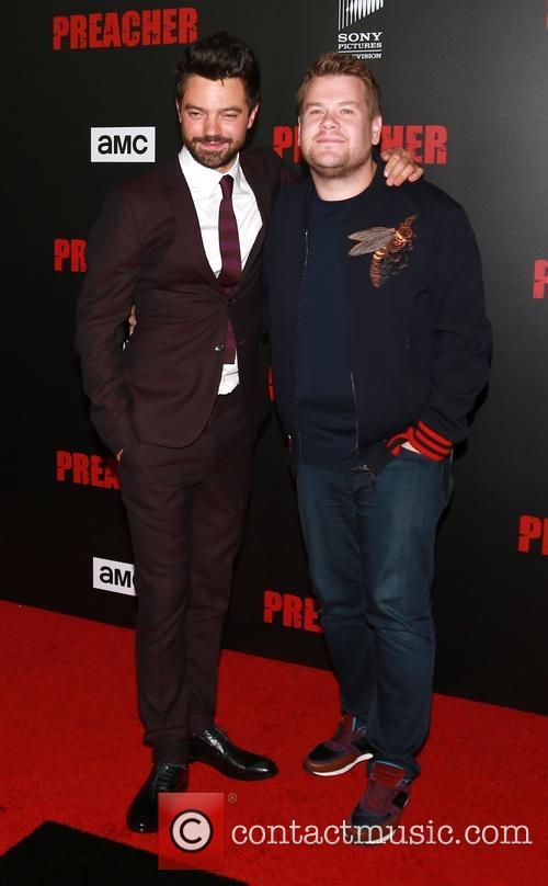 Dominic Cooper and James Corden 5