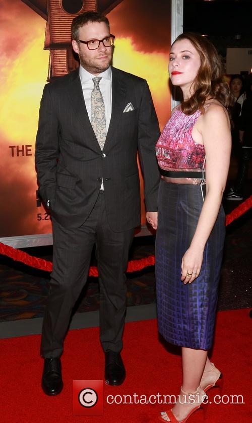 Seth Rogen and Lauren Miller 5