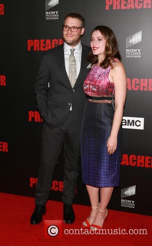 Seth Rogen and Lauren Miller 7