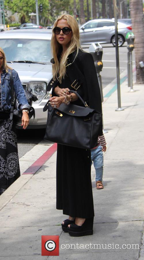 Rachel Zoe out and about with her two...