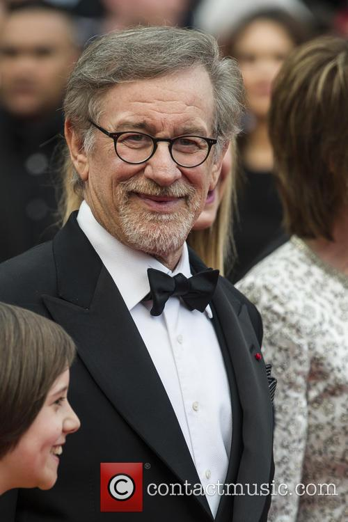 Ruby Barnhill and Steven Spielberg 2