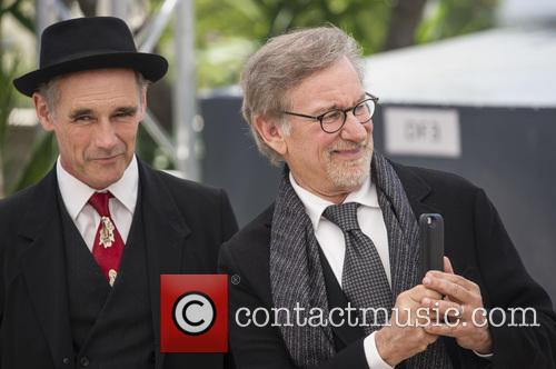 Mark Rylance and Steven Spielberg 1