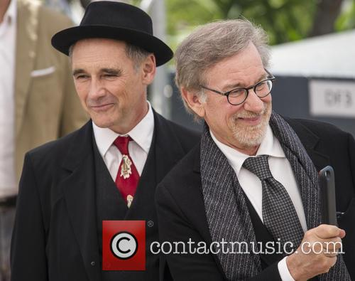 Mark Rylance and Steven Spielberg 2