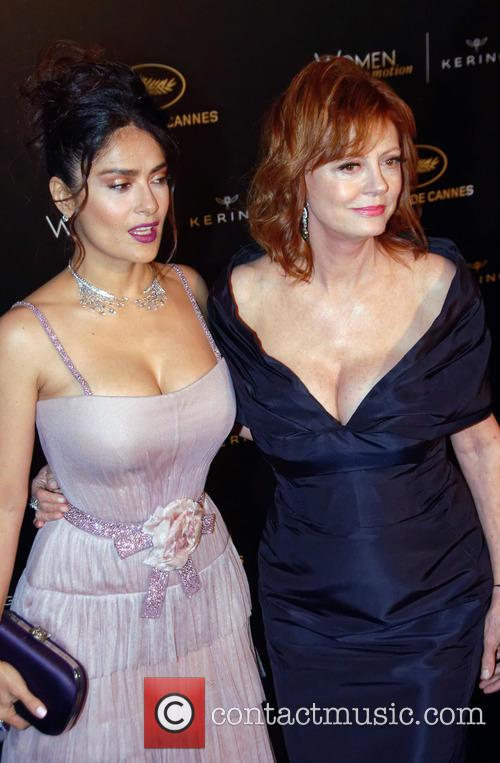 Susan Sarandon and Salma Hayek 2