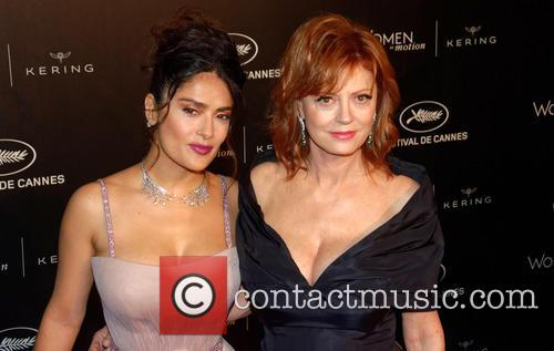 Susan Sarandon and Salma Hayek 3