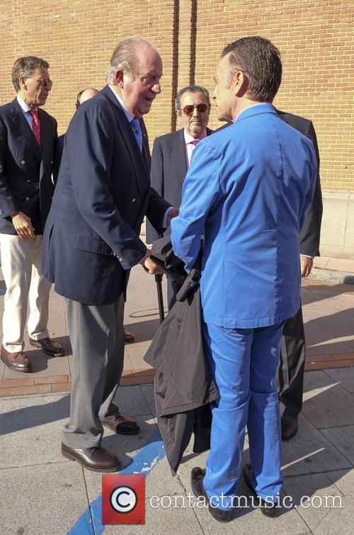 Juan Carlos I and José Ortega Cano 2