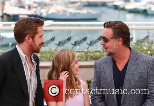 Ryan Gosling, Angourie Rice and Russell Crowe 4