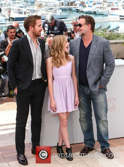 Ryan Gosling, Angourie Rice and Russell Crowe 6