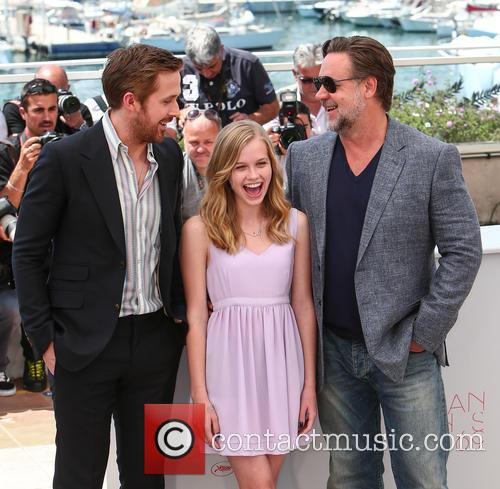 Ryan Gosling, Angourie Rice and Russell Crowe 7