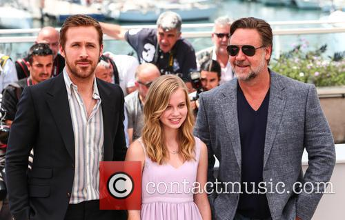 Ryan Gosling, Angourie Rice and Russell Crowe 8
