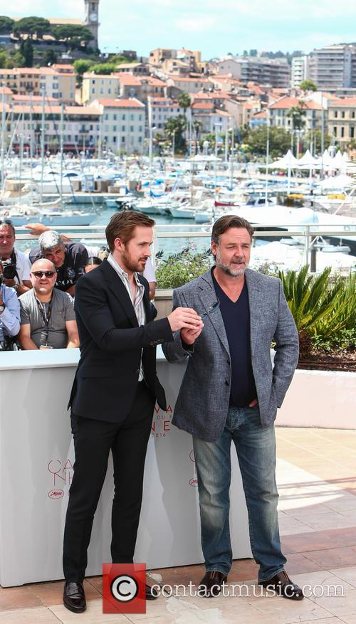 Russell Crowe and Ryan Gosling 11