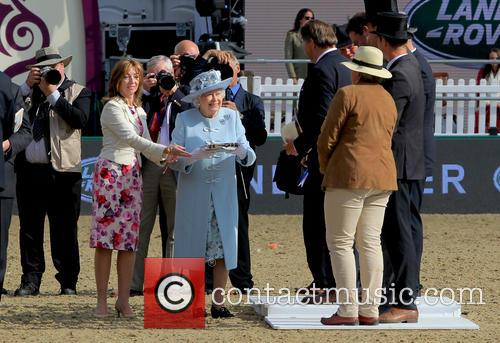 Hrh The Queen and Queen Elizabeth Ii 1