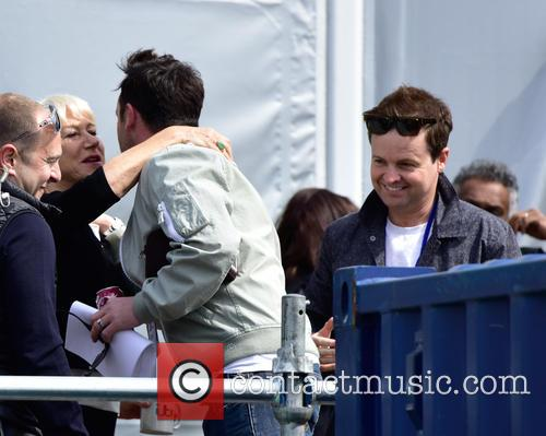 Anthony Mcpartlin, Declan Donnelly and Dame Helen Mirren 2