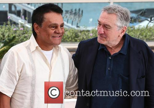 Robert De Niro and Roberto Duran 1
