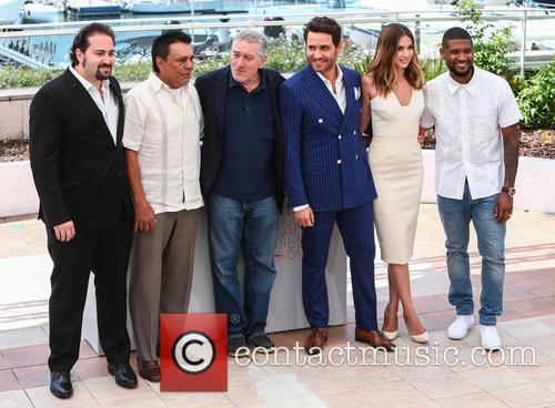 Jonathan Jakubowicz, Roberto Duran, Robert De Niro, Edgar Ramirez, Ana De Armas and Usher 2