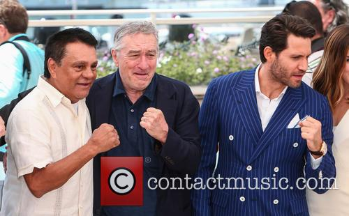 Roberto Duran, Robert De Niro and Edgar Ramirez 1