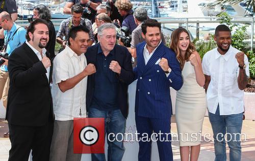 Jonathan Jakubowicz, Roberto Duran, Robert De Niro, Edgar Ramirez, Ana De Armas and Usher 3