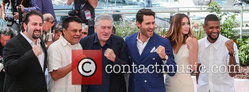 Jonathan Jakubowicz, Roberto Duran, Robert De Niro, Edgar Ramirez, Ana De Armas and Usher 4
