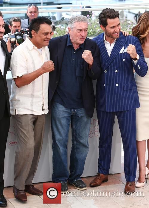 Roberto Duran, Robert De Niro and Edgar Ramirez 4