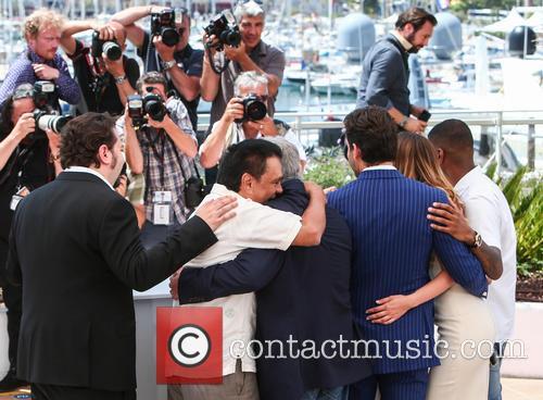 Jonathan Jakubowicz, Roberto Duran, Robert De Niro, Edgar Ramirez, Ana De Armas and Usher 5