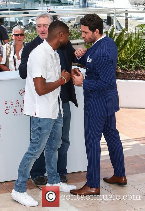 Usher, Robert De Niro and Edgar Ramirez 1