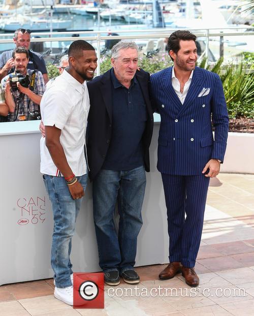 Usher, Robert De Niro and Edgar Ramirez 3