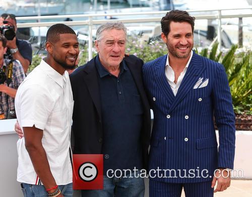 Usher, Robert De Niro and Edgar Ramirez 4