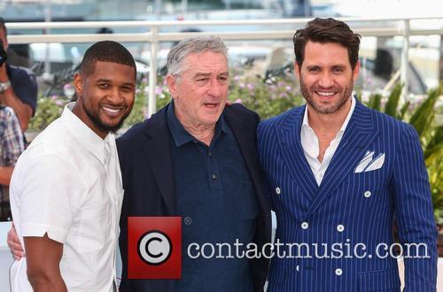 Usher, Robert De Niro and Edgar Ramirez 5
