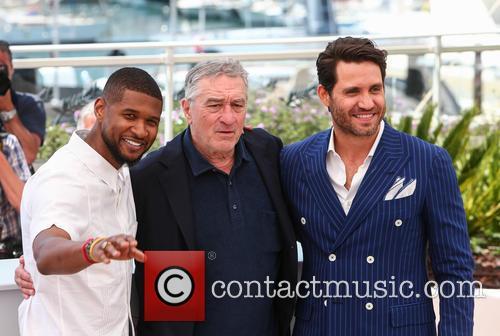 Usher, Robert De Niro and Edgar Ramirez 6
