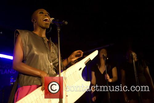 Laura Mvula headlining at the Oran Mor in...