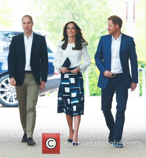 Prince William Duke Of Cambridge, Catherine Duchess Of Cambridge and Prince Harry 1