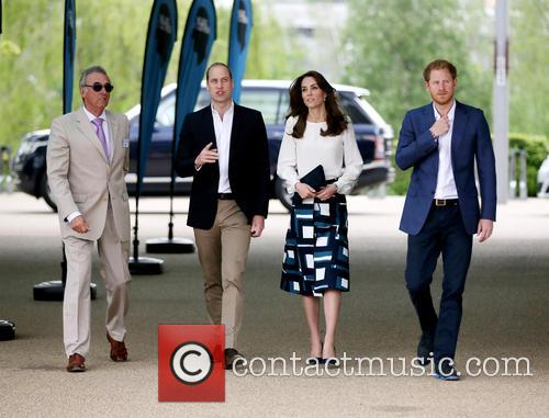 Prince William Duke Of Cambridge, Catherine Duchess Of Cambridge and Prince Harry 2