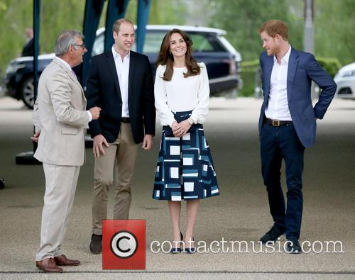 Prince William Duke Of Cambridge, Catherine Duchess Of Cambridge and Prince Harry 3