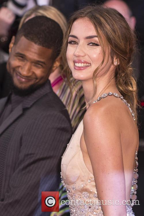 Usher Raymond and Ana De Armas 3