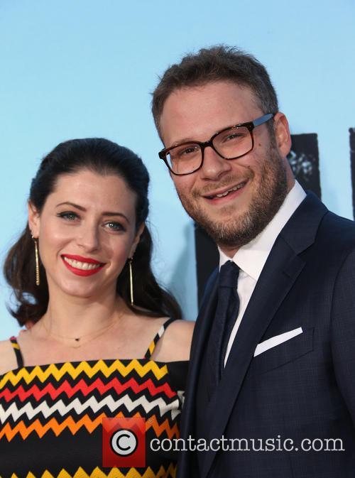Lauren Miller and Seth Rogen 4