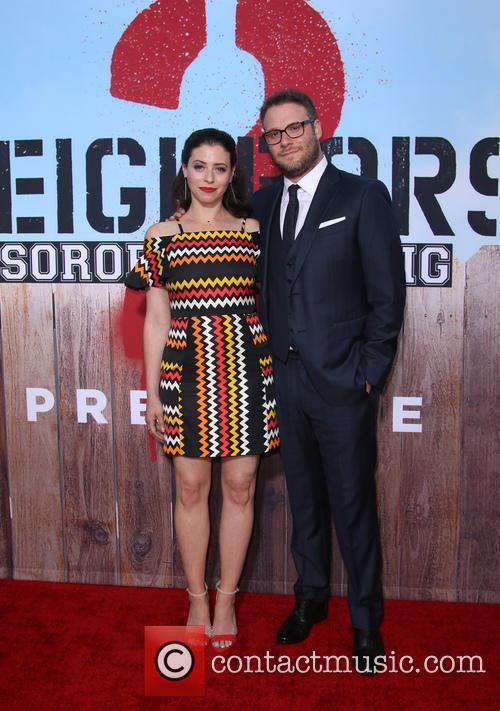 Lauren Miller and Seth Rogen 5