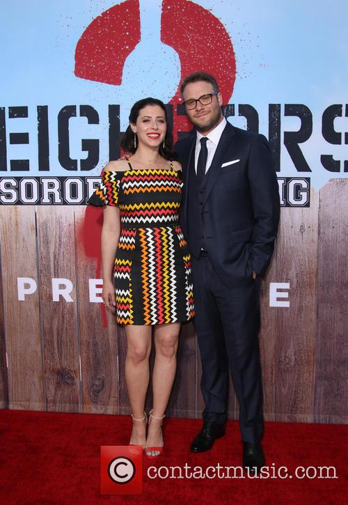 Lauren Miller and Seth Rogen 8