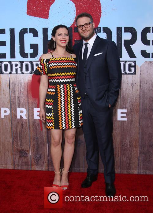 Lauren Miller and Seth Rogen 9