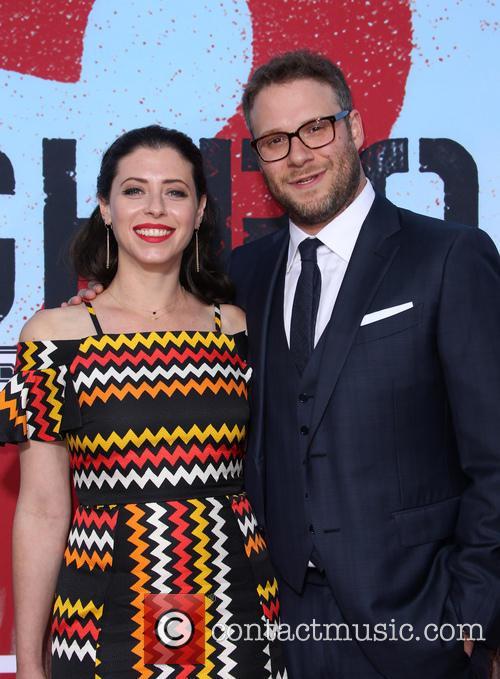 Lauren Miller and Seth Rogen 10