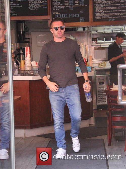 Robbie Keane out in Los Angeles