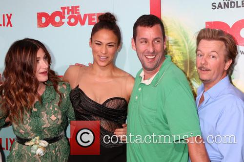 Kathryn Hahn, Paula Patton, Adam Sandler and David Spade