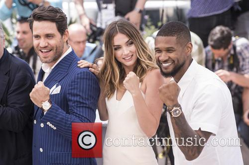 Usher Raymond Iv, Ana De Armas and Edgar Ramirez 2