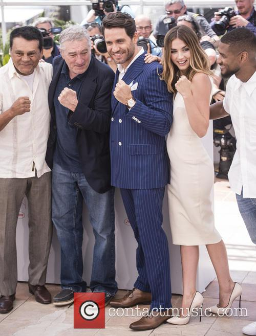 Roberto Duran, Robert De Niro, Edgar Ramirez and Ana De Armas 2