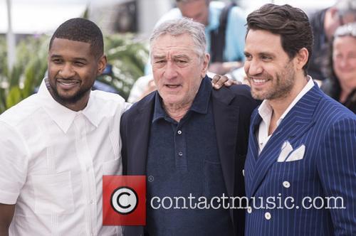 Usher Raymond Iv, Edgar Ramirez and Robert De Niro 5