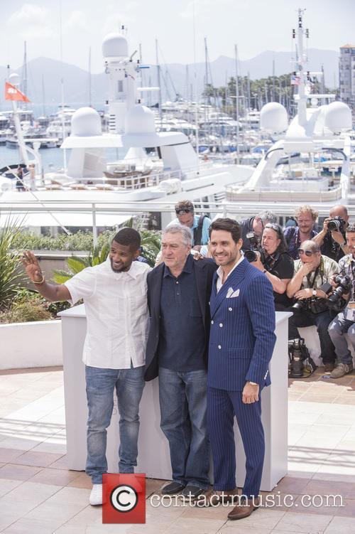 Usher Raymond Iv, Edgar Ramirez and Robert De Niro 6