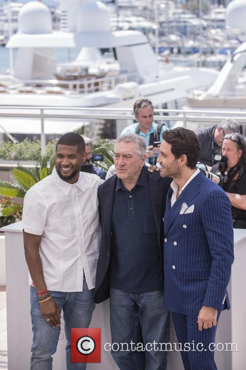 Usher Raymond Iv, Edgar Ramirez and Robert De Niro