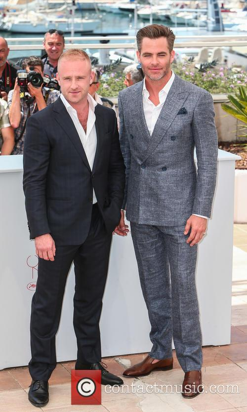 Ben Foster and Chris Pine 3