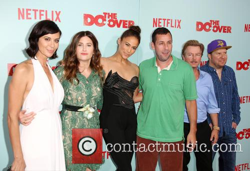 Catherine Bell, Kathryn Hahn, Paula Patton, Adam Sandler, David Spade and Nick Swardson 3
