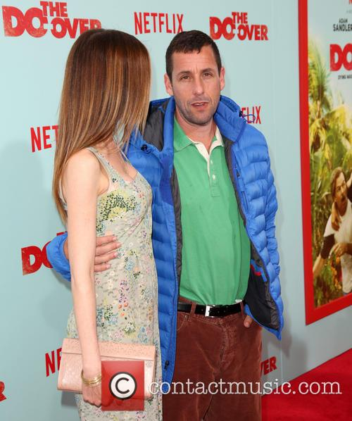 Jackie Sandler and Adam Sandler 1