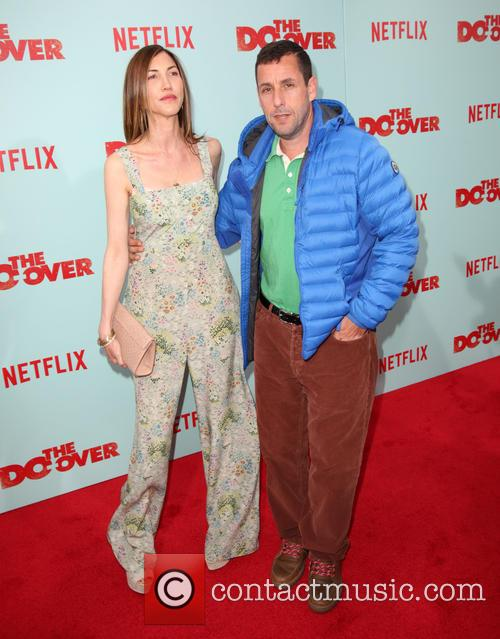 Jackie Sandler and Adam Sandler 2